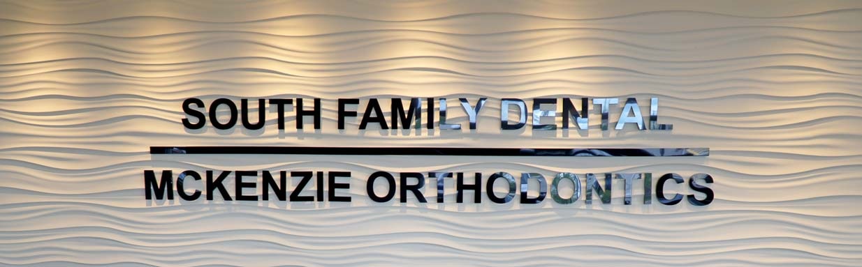 South Calgary Orthodontics | McKenzie Orthodontics | Reception Sign