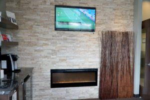 South Calgary Orthodontist   McKenzie Orthodontics Fireplace & TV