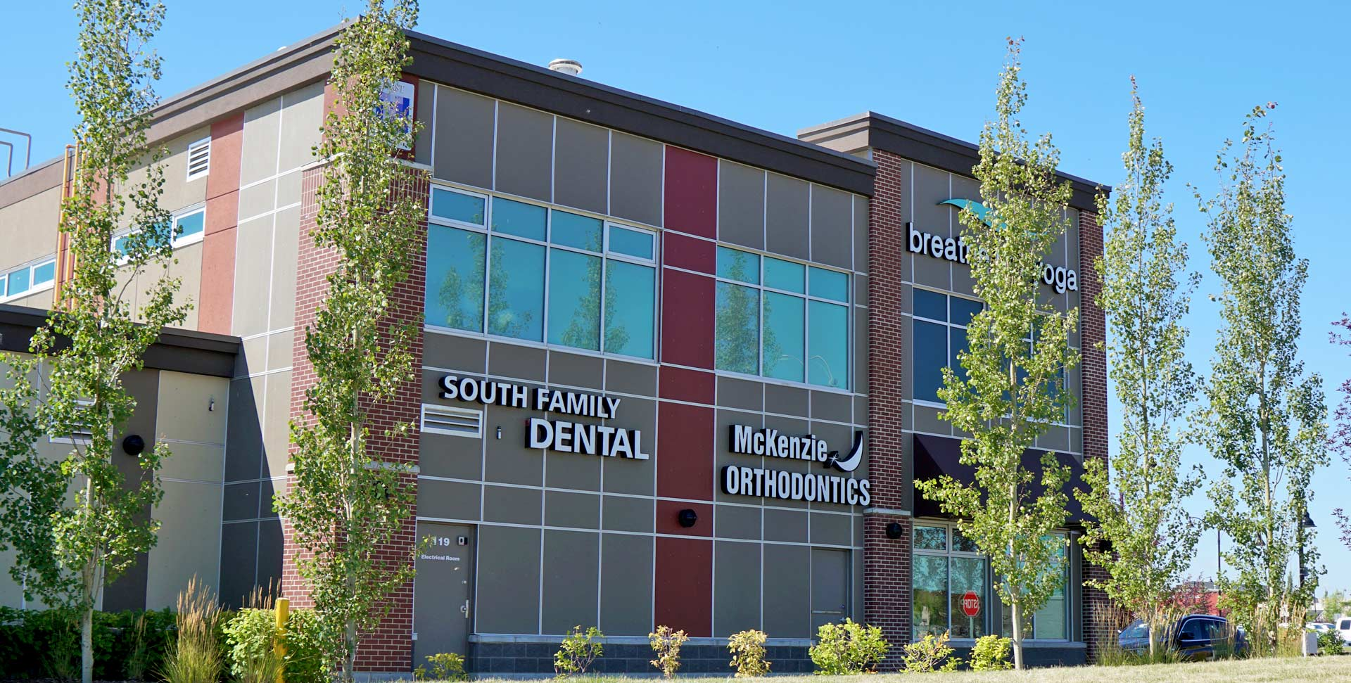 South Calgary Orthodontist | McKenzie Orthodontics Exterior from 52nd Street
